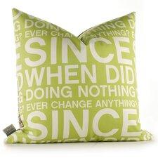 Graphic Pillows Since When Throw Pillow