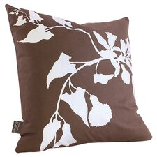 Morning Glory Organic Throw Pillow