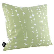 Estrella Pussy Willows Linen Throw Pillow