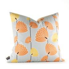 Aequorea Floating Lotus Throw Pillow