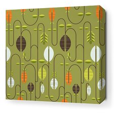 Aequorea Carnival Graphic Art on Wrapped Canvas in Grass