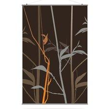 Morning Glory Tall Grass Slat Wall Hanging