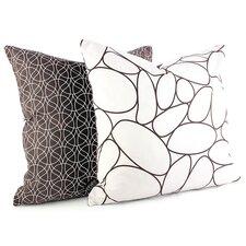 Madera River Rock Suede Throw Pillow