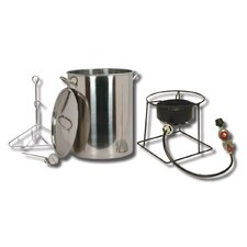 Turkey Fryer Package with Stainless Steel Pot