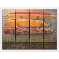 Board Walk  Full Color Cedar Wall Art