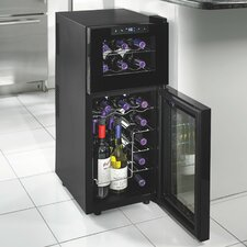 Silent Series 21 Bottle Dual Zone Built-In Wine Refrigerator