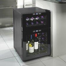 Silent Series 24 Bottle Dual Zone Freestanding Wine Refrigerator