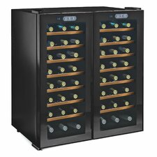 Silent Series 48 Bottle Dual Zone Built-In Wine Refrigerator
