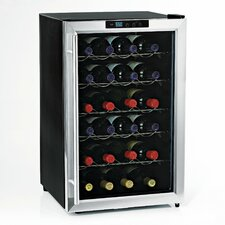 Silent Series 28 Bottle Single Zone Free-Standing Wine Refrigerator