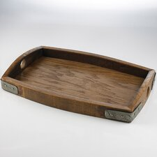 Reclaimed Barrel Stave Serving Tray