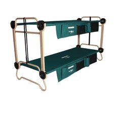 Cam-O-Bunk Bed with 2 Organizer Leg Extension