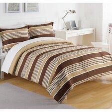 Caddy Stripe Comforter Set