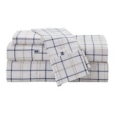 Windowpane Plaid Sheet Set