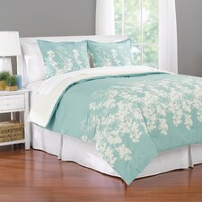 Shadow Leaf Comforter Set