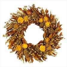 Sunny Flower Wreath