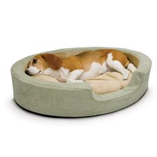 Thermo Snuggly Sleeper Oval Dog Bed