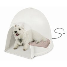 Igloo Soft Heated Dog Dome Heating Pad
