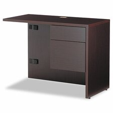 "Genoa Series 29"" H x 40"" W Right ""L"" Workstation Return"