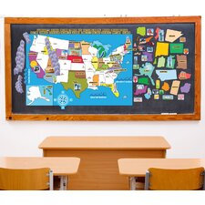 Peel, Play and Learn USA Map