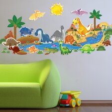 Dinosaur Plus Wall Decal