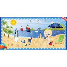 Beach Boy Wall Mural