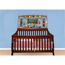 Sports Baby Crib Wall Mural