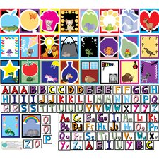 Educational Peel, Play and Learn Letters Wall Play Set