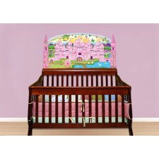 Princess Baby Crib Wall Mural