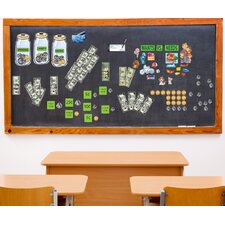 Educational Peel and Learn Money Wall Decal