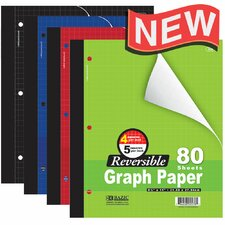 Reversible Quad Ruled Wireless Notebook (Set of 24)