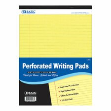 Perforated Writing Pad (Set of 48)