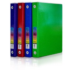 3 Ring Binder with Pocket (4 Pack)