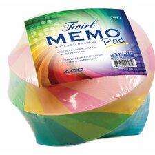 "0.6"" x 0.6"" Twirl Memo Pad (Set of 36)"