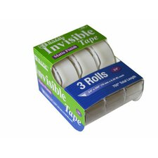 """250"""" Invisible Tape (3 Pack)"""