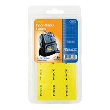 180 Ct. Price Mark Labels