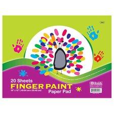 Finger Paint Paper Pad (Set of 48)