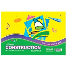 Construction Paper Pad (Set of 48)