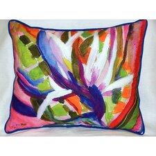 Bird of Paradise Outdoor Lumbar Pillow