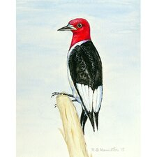 Woodpecker Vertical Flag