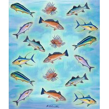 Assorted Fish Throw