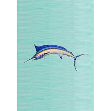 Blue Marlin Vertical Flag