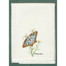 Butterfly Peacock Hand Towel (Set of 2)