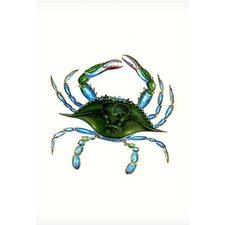 Female Blue Crab Vertical Flag