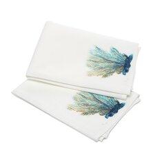 Coastal Coral Hand Towel (Set of 2)