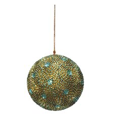 Holiday Twirl Ball Ornament (Set of 2)