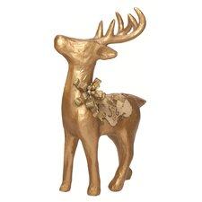 Paper Mache Standing Reindeer