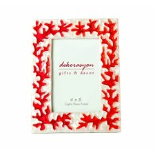 Embossed Coral Picture Frame