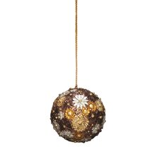 Holiday Bloomsbury Ball Ornament (Set of 2)