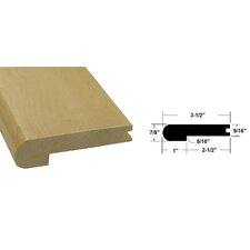 """0.56"""" x 3.5"""" x 78.75"""" Maple Stair Nose in Light Brown"""