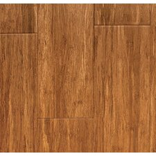 """3-47/50"""" Carbonized HDF Core Strand Bamboo click flooring"""